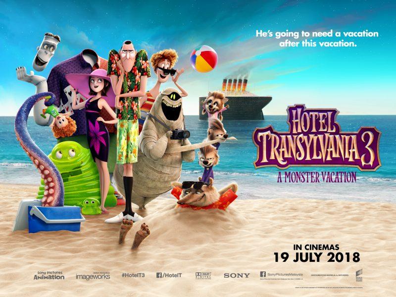[TICKET GIVEAWAY] Hotel Trasylvania 3 Kembali Lagi, Lucu Bila Dracula Jatuh Cinta!