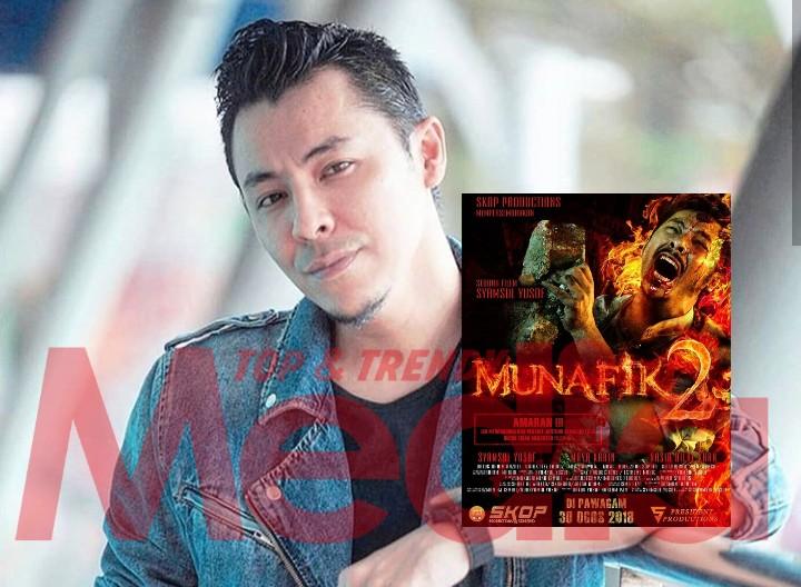 Syamsul Yusof 'Share' Poster Filem Munafik 2, Ramai Tak Sabar!