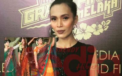 """""""Cayalah Acik Gayah,"""" – Netizen Terhibur Lihat Amyza Aznan Gelek Tarian Bollywood"""