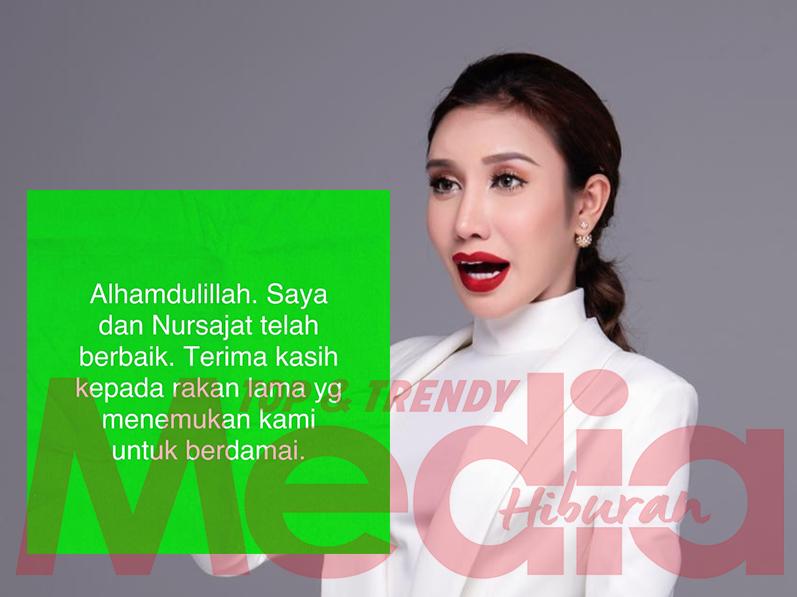 """""""Kita 'Lelaki' Mana Gaduh Lama-Lama""""- Netizen Kata Bila Safiey Umum Dah Berbaik Dengan Sajat"""