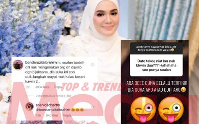 """""""Langkah Mayat Mak Kalau Berani Kahwin Dua,"""" – Ini Respon Ibu Datuk Seri Aliff Syukri Bila Peminat Tanya Fasal Kahwin Lain"""