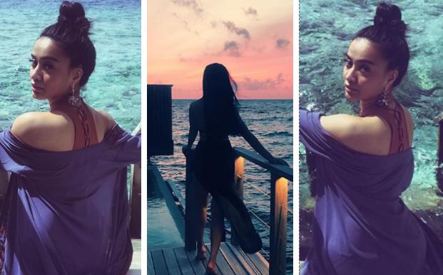 [GAMBAR] Holiday Kilafairy Yang Super Hot Di Maldives, Macam Kim K lah!!!