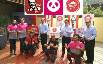 Jalin Kerjasama Bersama Foodpanda, Delivery KFC & Pizza Hut Kini Lebih Mudah, Sampai On Time!