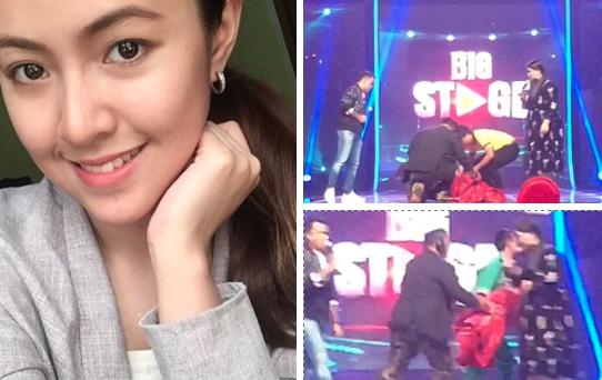 [VIDEO] Selesai Menyanyi Baby Shima Jatuh Pengsan, Live Di Big Stage!