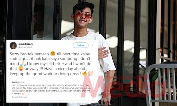 """Nak Kata Saya Sombong, I don't Mind,"" – Akui Tidak Perasan, Ismail Izzani Jawab Tuduhan Acah Kekwat"