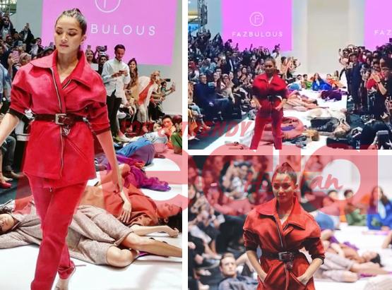 """You Deserve It Girl!""- Pertunjukan Fesyen Nur Fazura Paling Vogue Di KLFW 2018"