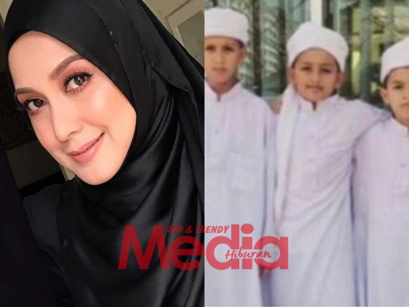 """""""Genap Setahun Haikal, Hafiz Dan Haris Tinggalkan Kami,"""" – Mas Anizan Sayu Teringatkan 3 Anak Saudara Terlibat Kes Pusat Tahfiz Terbakar"""
